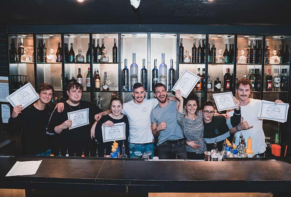 Corso barman livello 1 diploma